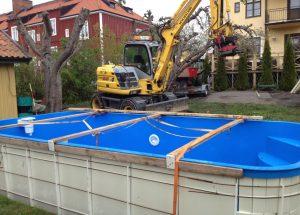 Terra AB Grävning Lyft Pool