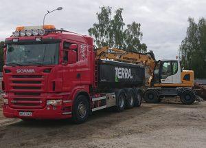 Terra AB Transporter Schaktmassor